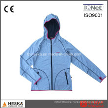 New TPU Hoodie Womens Softshell Jacket