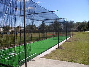 PE polyester nylon baseball netting