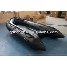 Bote de goma de carga inflable militar
