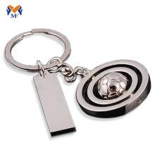 Porte-clés idée boule de métal populaire pour hommes