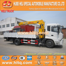 DONGFENG 4x2 5 tons XCMG crane truck with crane B170 33 170hp