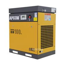 APCOM 2021 hot sale 7.5KW 10HP yellow rotary screw air compressor