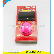 Hot Selling Kid's Toy Pink Sport Wrist Hi Rubber Bounce Ball