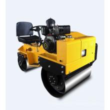 Rolo compactador de rodas de aço duplo de baixo preço