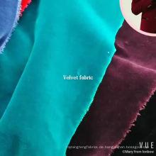 hochwertiger Baumwollsamt-Jackenstoff für Großverkauf