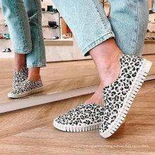 Superstarer Low Price Bulk Women PU Casual Shoes Fashionable Rubber Casual Shoes