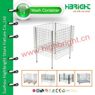wire mesh supermarket promotion display