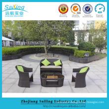 Best Seller Artificial Rattan Furniture Setting Outdoor Wicker Sofa Sets