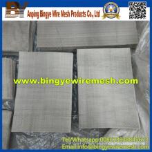 Malla de alambre rectangular de acero inoxidable