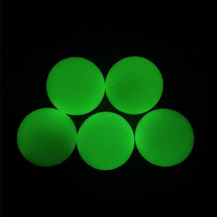 Fluorescent Golf Balls