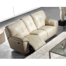 Canapé salon avec canapé moderne en cuir véritable (916)