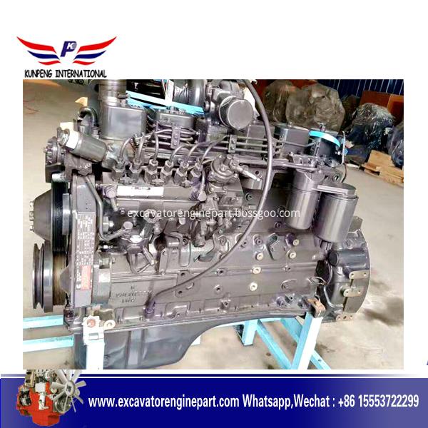 Excavator  Engine  6DD95 6D108 6D110 6D114 6D117 for komatsu brand