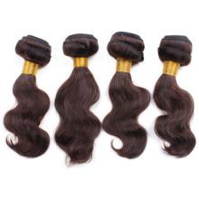 Клубок свободного тело волны коричневый 3 шт волос ткать