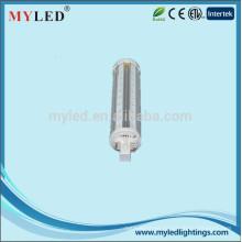 12w llevó la luz del plume luz del maíz de 360 grados con la base E27 / G24 / G23
