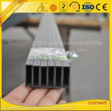 Perfil de alumínio personalizado da extrusão de alumínio para o tubo de alumínio