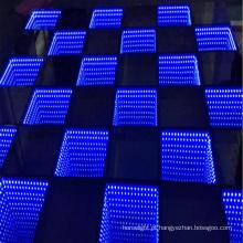 Salão de dança portátil do diodo emissor de luz de Digitas da animação do RGB DMX512 para a venda