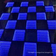 Оптовая цена 3D бесконечное светодиодные танцпол