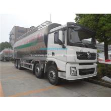 Caminhão de descarga / transporte de cimento de alimentação a granel Shanqi