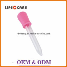 BPA Free Rubber Dropper Silicone Pink Baby Medicine Dropper