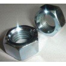 Porcas hexagonais de aço carbono de alta qualidade