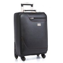 Manmade Leather Trolley Luggage Wholesale
