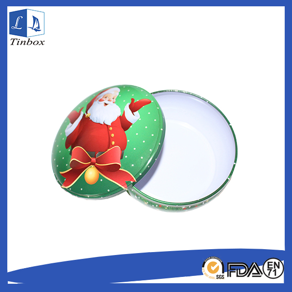 Metal Round Food Tins Containers