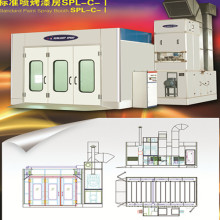 Car Paint Baking Spray Booth with CE / ISO Certificate