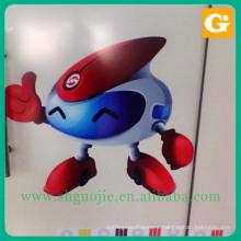 Custom shape die cut vinyl wall sticker