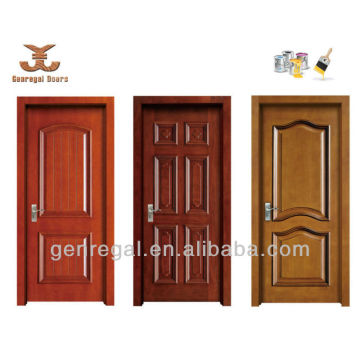 Finished latest design Housing Hotel Painting Wooden door