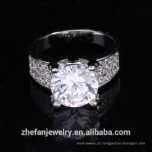 recém-chegados 2018 anéis em massa de moda mulheres anel de casamento anel