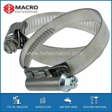 stainless steel adjustable plastic hose clamps