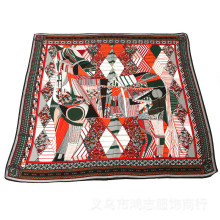 Frauen große Kaschmir wie Square Wrap Schal Schal (SW102)