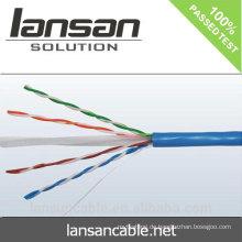 UTP-Kabel Katze 6 mitgeliefert LSZH, FR PVC, PVC (CE, UL, ISO, RoHS)