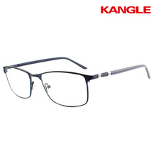 China Wholesale Brand Designer New Model Specs Metal Optical Eye Glasses Frames For
