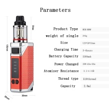 Cigarette Vape Mod Vaporisateur Starter 80W Box Mod