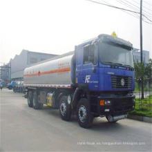 Shacman 25-30liters 8X4 camión cisterna de combustible