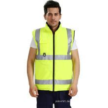Hallo Vis reflektierende industrielle Arbeitskleidung Jacke