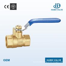 China 1/2′′-2′′inch Cast Iron Handle Brass Female Ball Valve