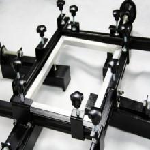 شاشة الطباعة الحريرية شبكة تمتد آلة