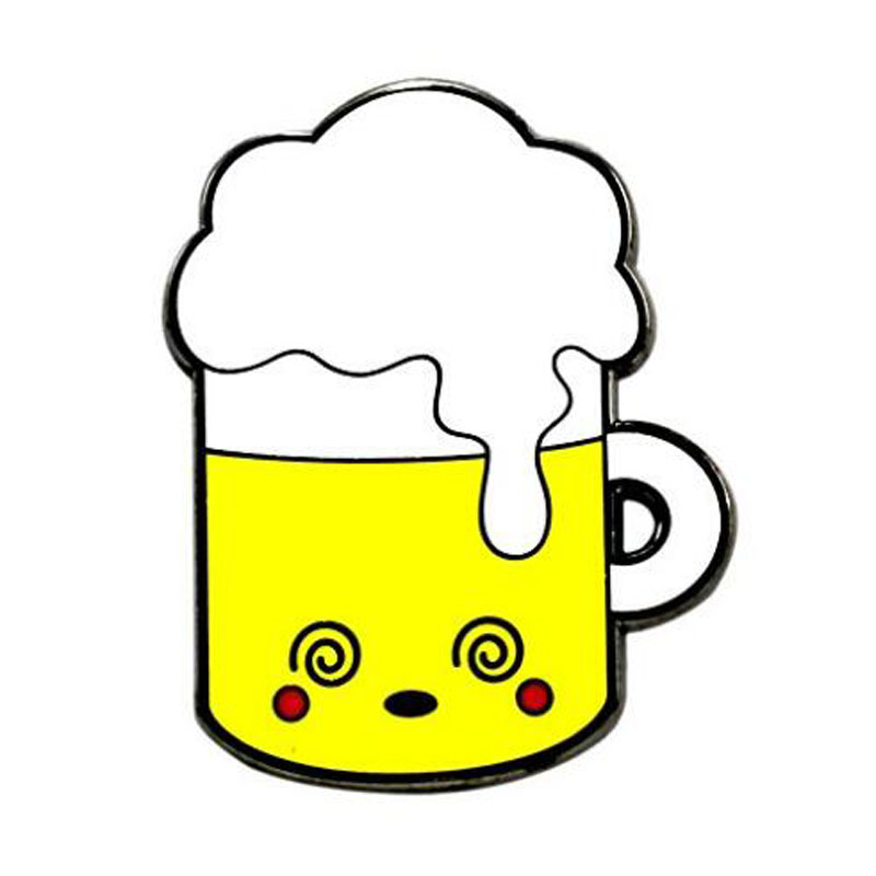 Kawaii Beer Pin