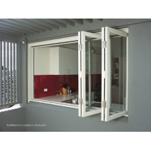Portes et fenêtres en aluminium bifold non-corrompus