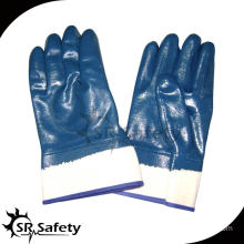 SRSAFETY jersey liner NBR heavy duty oil industry safety work glove
