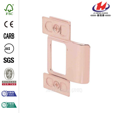 Brass Plated Adjustable Door Strike
