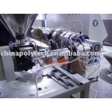 PPR tubería extrusión Line(plastic machine)