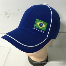 (LFL15011) Gorra de equipo de otomano de punto con Spandex Sweatband
