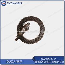 Pinhão genuíno da roda de coroa das peças sobresselentes NPR do automóvel 7:41 9C4,9C22-A