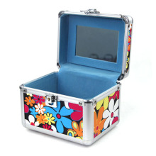 Aluminum Cosmetic Rolling Makeup Beauty Case (HX-W3639)