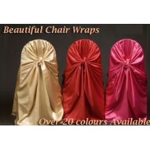 Luxury! Back tie chair cover for banquet/wedding