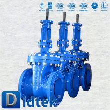 Didtek OS&Y Rising Stem WCB Gate Valve With Drawing