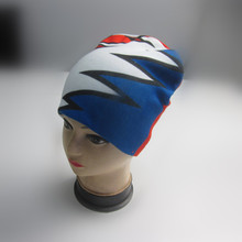 Fashion Print Wintermütze Beanie